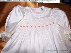 silk smocked hand embroidered by cutiepye australia 0427820733