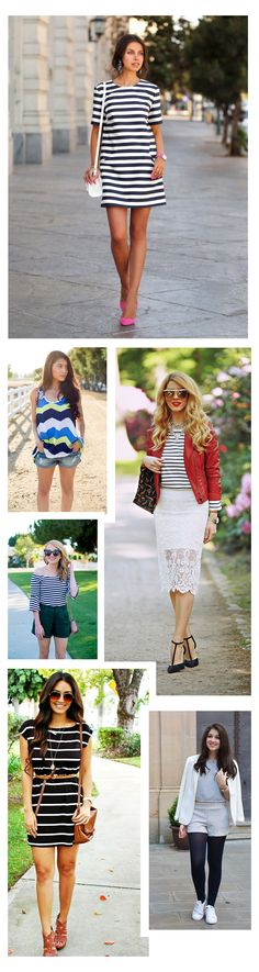 Fashion New Trend, Striped Dresses for Perfect Outfits