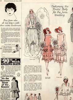 1920's bridal ad