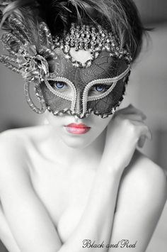 Beautiful Mardi gras mask