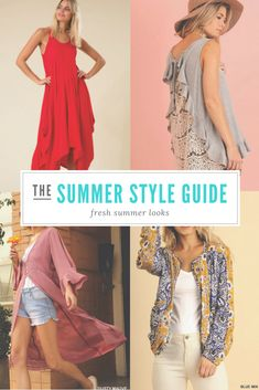 All of the summer looks you need in one place.