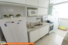 Apartamento Decorado do Recanto dos Passáros, no bairro Andorinhas - Rio de Janeiro - RJ - MRV Engenharia - Cozinha.