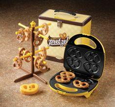 Soft pretzel maker...WANT!!!