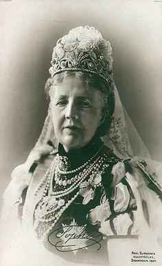 HM Queen Sophia of Sweden (1836-1913) née Her Serene Highness Princess Sophia of Nassau