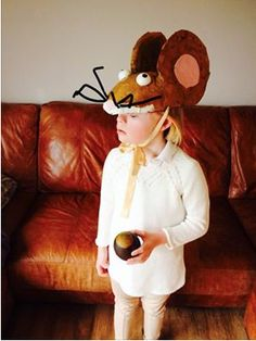 Big Bad Mouse costume all ready for World Book Day!