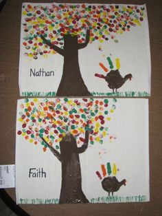 Easy DIY Thanksgiving Crafts for Kids to Make - Ideas Thanksgiving Crafts For Toddlers, Thanksgiving Placemats, Thanksgiving Art, Thanksgiving Crafts For Kids, Thanksgiving Activities, Crafts For Kids To Make, Fall Crafts, Kindergarten Thanksgiving Crafts, Autumn Activities