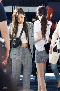Jennie-BLACKPINK 170826 Gimpo Airport