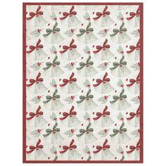 Christmas Holiday Bells Design 7 Fleece Blanket