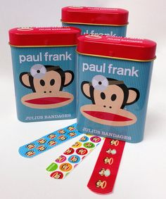 Look what I found on #zulily! Paul Frank Bandage Tin - Set of Three by Paul Frank #zulilyfinds