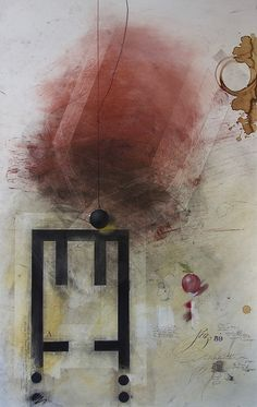 The Temple of Juno or The Red Barn 21st Century, Temple, Barn, Red, Painting, Converted Barn, Temples, Painting Art, Buddhist Temple