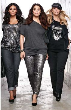 edgy clothing for plus size women | From edgy girls to business women.