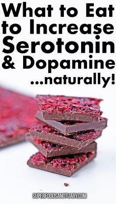 Top 10 Foods that Increase Serotonin and Dopamine Naturally - Superfood Sanctuary - Heal through Food Natural Cough Remedies, Natural Health Remedies, Natural Cures, Herbal Remedies, Healthy Food Choices, Healthy Tips, Healthy Eating, Healthy Brain, Healthy Snacks