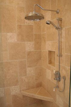 idea for rain shower head - doesn't have to be from ceiling
