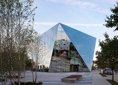 MOCA Cleveland, Cleveland, 2012 - Farshid Moussavi Architecture #mirror #facade #architecture