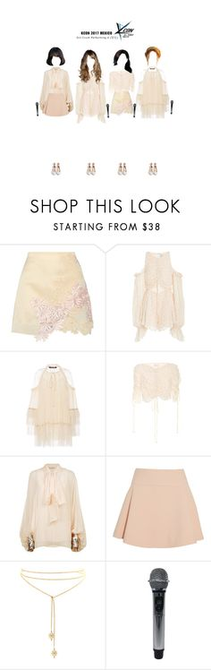 """KCON Mexico: Performing U (당신)"" by girlcrush-official ❤ liked on Polyvore featuring 3.1 Phillip Lim, Alice McCall, Roberto Cavalli, Chloé, Maje and Gianvito Rossi"