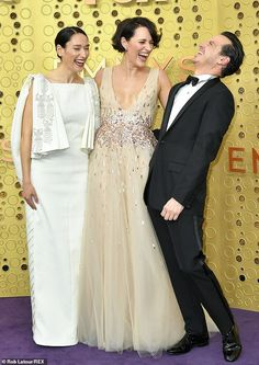 FLEABAG swept the Emmys last night with the BBC comedy picking up a staggering four awards in America. Its stars Phoebe Waller-Bridge and Andrew Scott, who played the 'hot priest' from … Andrew Scott, Documentary Now, James Moriarty, Phoebe Waller Bridge, Edinburgh Festival, The Emmys, Celebs, Celebrities, Red Carpet Looks