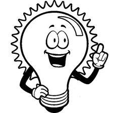 Enerji Tasarrufu Haftası Afişi İçin Boyama Sayfaları