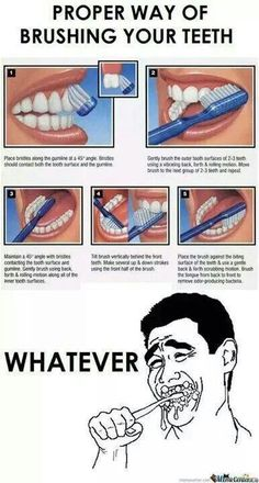 Don't scrub your gums away!