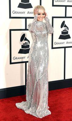 Rita Ora 57th Annual Grammy Awards, Rita Ora, Style Icons, Singer, Glamour, Outfits, Dresses, Photos, Fashion