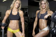 ifbb pro Raechelle Chase. she is my idol. shes a mom, she is a fitness pro, and look at her she looks amazing. i am starting to compete in figure and having this picture hanging on my mirror gives me the boost to go lift even on the days that i dont want to. thanks for your inspiration raechelle.