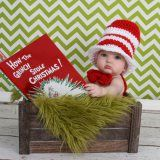 10 ideas for babys first christmas photos / Dr. Suess Christmas