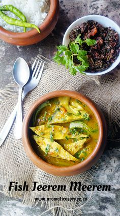 Goan Fish Jeerem Meerem Curry recipe with step-by-step pictures. Easy fish curry recipe without coconut. Goan Recipes, Veg Recipes, Curry Recipes, Seafood Recipes, Indian Food Recipes, Chicken Recipes, Ethnic Recipes, Kerala Recipes, Grilled Fish Recipes