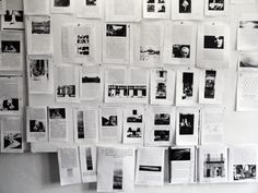 These pages, that represent the 385 images from W. G. Sebald's four published prose fictions, jump-started our 5-year long study of the late author's work. By attempting to bring the pictures back to their pre-publication state where they existed only as parts of Sebald's Bildmaterial, we were able to discover heretofore unknown connections between parts of the images instead of just the content contained in the image.