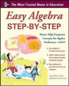 Easy Algebra Step-by-Step: Master High-frequency Concepts and Skills for Algebra Proficiency - Fast! (Easy Step-by-Step)