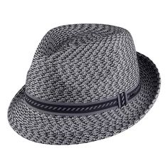 Bailey Hats Mannes Trilby - Charcoal Mix