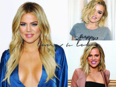 Khloe Kardashian Short vs. Long Hair - I've had so many people ask me about cutting my hair that I decided to post about it - How I decided to do it, the photos I showed my hair stylist, some of my favorite before & afters, and how I feel now that it's cut palms-to-pines.com