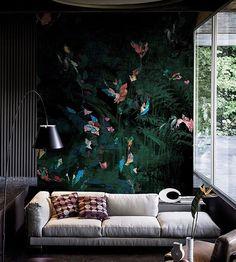 Mural Rafale by Wall and Deco #wallpaper #wallsneedlove #behangopmaat #interior #behangfabriek #tapete #papierpeint