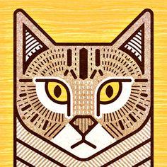 """""""Kitkat""""cat portrait"""
