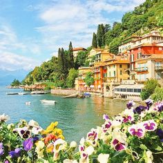 Awesome view of Lake Como!! #lake #italy