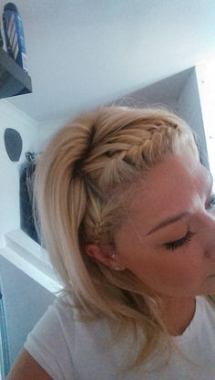 Plaits across the fringe. Perfect for this hot weather!!!