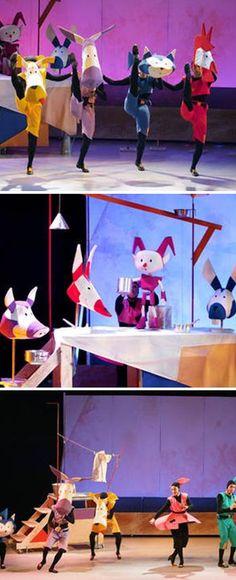 """Espectacle musical infantil """"Els músics de Bremen"""". Gran Teatre del Liceu (Barcelona). 25 i 26 de març i 1 i 2 d'abril 2017"""