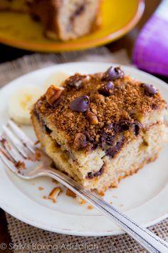 Banana Chocolate Chip Crumb Cake.
