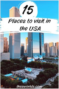 Fifteen best places to visit in the USA! Explore some of the best and romantic places in the USA today! All of these undiscovered places are located near major US cities such as New York, Chicago, Los Angeles, Dallas, and others! Explore National parks, small cities, and more. | Undiscovered places in the US | Bucket list places in the US | US Travel ideas #us #travel #places #explore #guide #cities #undiscovered #bucket #ideas