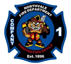 Northvale Fire Dept Taz Customer Decal