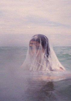 girl in water, creepy