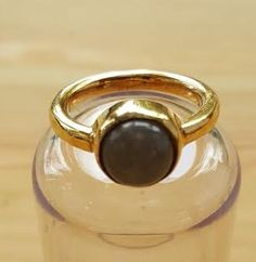 Onyx Ring, Black Onyx Ring, Birthstone Ring, Onyx Ring Women, Gold Onyx Ring, Unique Rings for Her, Statement Ring, Black Gemstone Ring