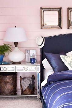 Combinar rosa y azul en decoracion