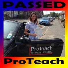 Passed in Burton on Trent 18th July 2013   Congratulations to Catherine Grace on passing her driving test in Burton on Trent.   Catherine had a great drive picking up only 3 driving faults. This was also her first attempt!!!   Hope you enjoy the weekend surfing! What a way to celebrate passing, long weekend on the beach!   Well done again from your driving instructor Matt and ProTeach Driving School.   Call 0333 577 5001 or 07895 187464 to book your lessons.  www.proteachdrivinglessons.co.uk