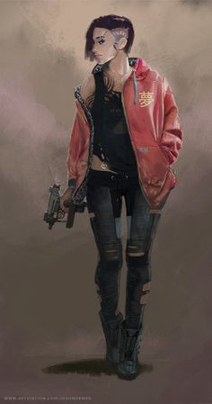 Aiming for a concept you could imagine in Cyberpunk 2077 Cyberpunk 2077, Cyberpunk Mode, Cyberpunk Kunst, Cyberpunk Girl, Cyberpunk Aesthetic, Cyberpunk Fashion, Female Character Design, Character Concept, Character Art