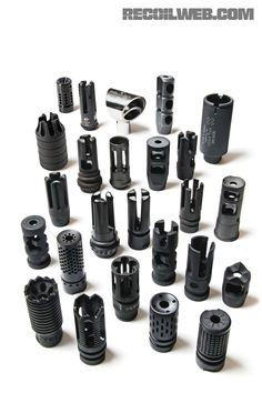 Learn the basics of flash suppressors, muzzle brakes, and compensators. - RECOIL Magazine