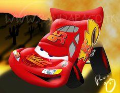 Lightning McQueen in Vectors by pandapaco.deviantart.com on @deviantART