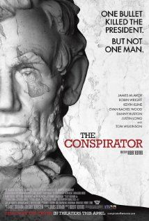 The Conspirator directed by Robert Redford, and starring James McAvoy, Robin Wright, and Kevin Kline. Filmed scenes at GSRM Fall James Mcavoy, Tom Wilkinson, Robin Wright, Evan Rachel Wood, Robert Redford, Love Movie, Movie Tv, Movie List, Abraham Lincoln