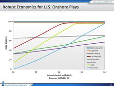 Economics for U.S. Onshore Natural Gas Plays