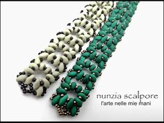 superduo bracelets ~ Seed Bead Tutorials