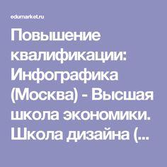 Повышение квалификации: Инфографика (Москва) - Высшая школа экономики. Школа дизайна (Москва)