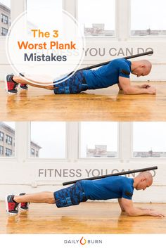Planks are the king of all core exercises, but one small mistake can ruin everything. Follow these tips to plank it out — the right way.